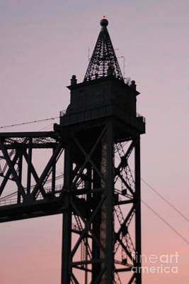 Cape Cod Canal Train Bridge Art Print