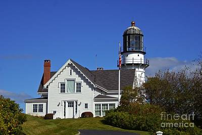 Photograph - Cape Elizabeth Lights. by New England Photography