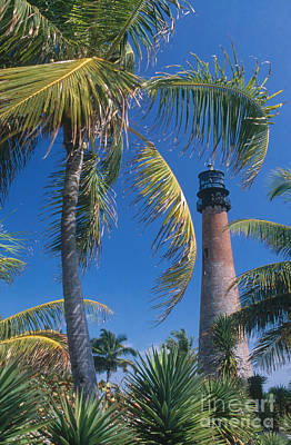 Cape Florida Lighthouse Photograph - Cape Florida Lighthouse, Fl by Bruce Roberts