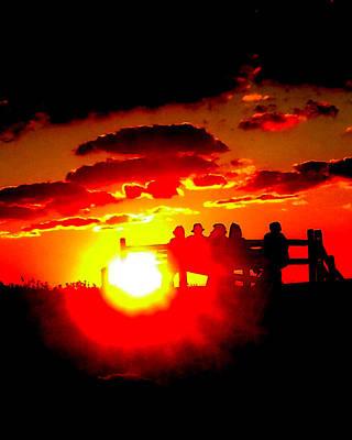 Photograph - Cape Light Show by Glenn McCurdy