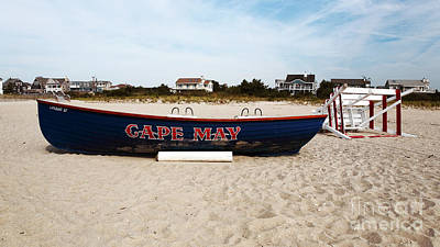 Photograph - Cape May Beach by John Rizzuto
