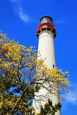 Photograph - Cape May Lighthouse In The Spring by Carolyn Derstine