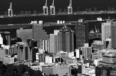 Photograph - Cape Town Skyline - South Africa by Aidan Moran