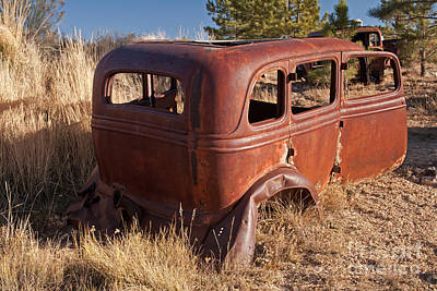 Photograph - Car by Fred Stearns