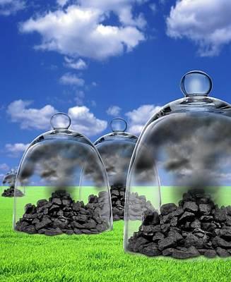 Carbon Capture And Storage Art Print by Victor De Schwanberg