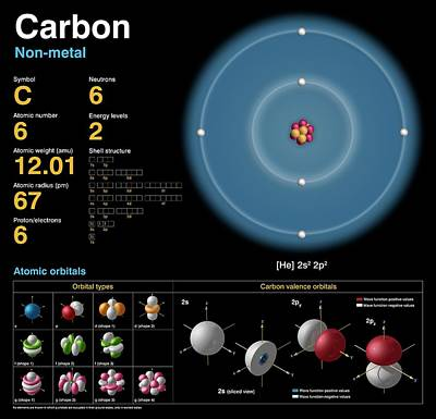 Carbon Art Print by Carlos Clarivan
