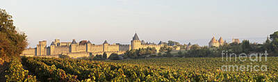 Languedoc Photograph - Carcassonne Languedoc Roussillon France by Colin and Linda McKie