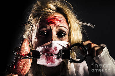Photograph - Cardiac Arrest From Horror Health Care by Jorgo Photography - Wall Art Gallery