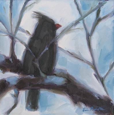 Cardinal Reposed Art Print
