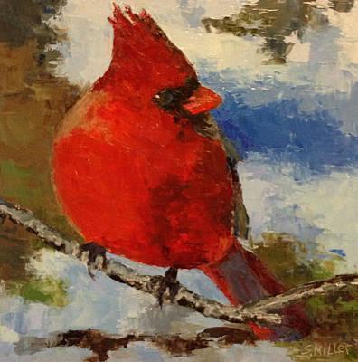 Painting - Cardinal by Sylvia Miller