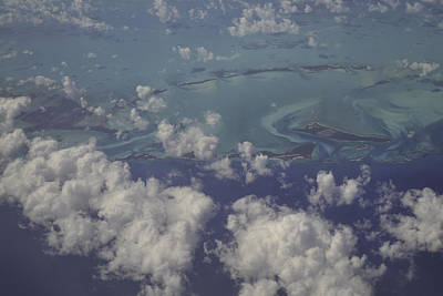 Photograph - Caribbean Aerial 4 by Bonnie Leigh Delar