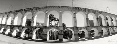 Carioca Aqueduct, Lapa, Rio De Janeiro Art Print