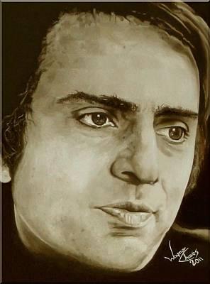 Carl Sagan Painting - Carl Sagan by Wagner Chaves