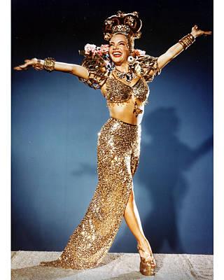 Carmen Photograph - Carmen Miranda by Silver Screen