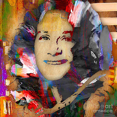 Piano Mixed Media - Carole King Collection by Marvin Blaine