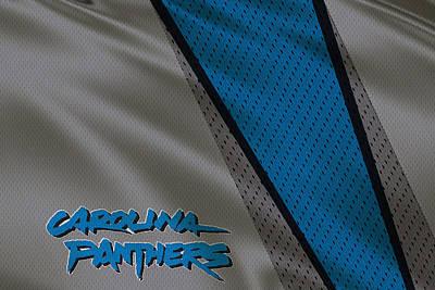 Panther Photograph - Carolina Panthers Uniform by Joe Hamilton