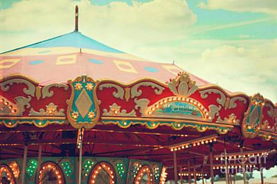 Photograph - Carousel by Kim Fearheiley