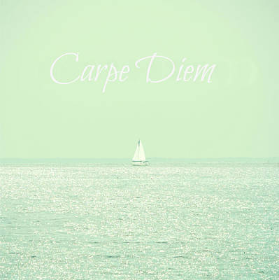 Carpe Diem Art Print by Robin Dickinson