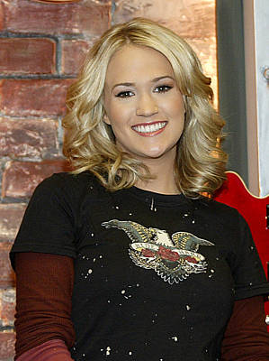 Carrie Underwood Art Print by Don Olea