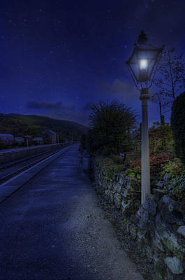 Photograph - Carrog Station  by Ian Mitchell