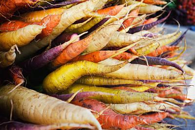 Kitchen Decor Photograph - Carrots by Tanya Harrison