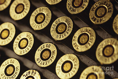 Photograph - Cartridges by Jim Corwin