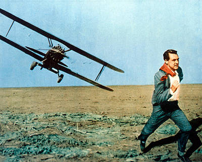 Cary Grant Wall Art - Photograph - Cary Grant In North By Northwest  by Silver Screen