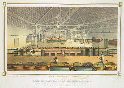 Casa De Calderas Print by British Library