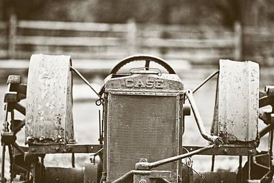 South Louisiana Photograph - Case Tractor by Scott Pellegrin