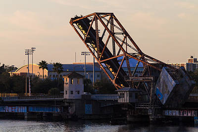 Photograph - Cass Street Drawbridge by Ed Gleichman