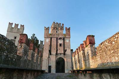 World Destination Photograph - Castello Scaligero, Sirmione, Lago Di by Sergio Pitamitz