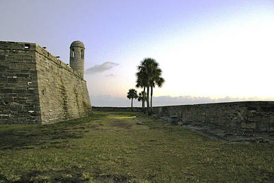 Photograph - Castillo De San Marcos View 2 by Jessica Snyder