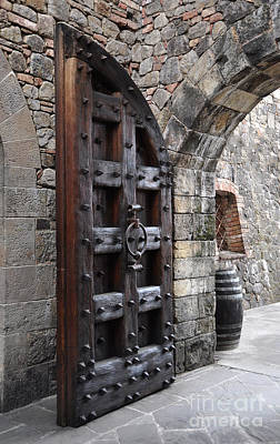 Photograph - Castle Door by Gina Savage