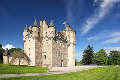 Photograph - Castle Fraser by Grant Glendinning