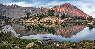 Restful Photograph - Castle Peak Reflection by Leland D Howard