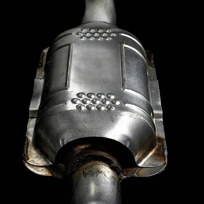 Air Component Photograph - Catalytic Converter by Science Photo Library