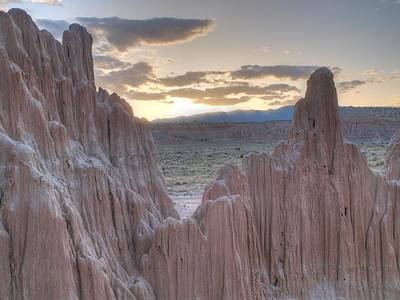 Art Print featuring the photograph Cathedral Gorge by Jenessa Rahn