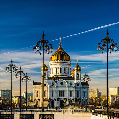 Modern Man Surf - Cathedral of Christ the Savior Of Moscow - Russia by Alexander Senin