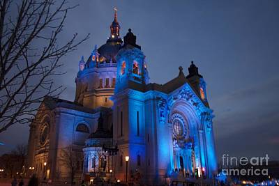 Cathedral Of Saint Paul - Crashed Ice Art Print by Kevin Jack