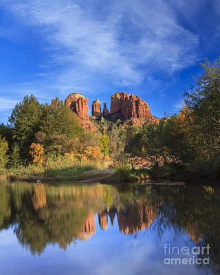 Cathedral Rock Art Print by Medicine Tree Studios