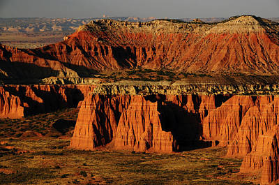 Cathedral Valley, Upper Cathedral Art Print by Michel Hersen