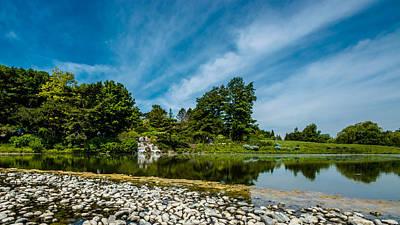Photograph - Cbg Waterfall by Randy Scherkenbach