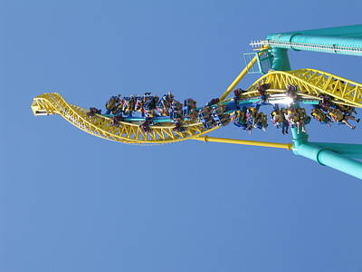 Cedar Point - Wicked Twister - 12122 Art Print
