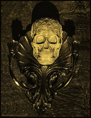 Skull Photograph - Celtic Skulls Symbolic Pathway To The Other World by LeeAnn McLaneGoetz McLaneGoetzStudioLLCcom
