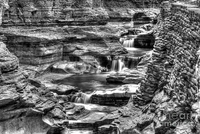 Photograph - Central Cascade Watkins Glen by Brad Marzolf Photography