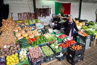 Photograph - Central Market In Oporto by Pablo Lopez