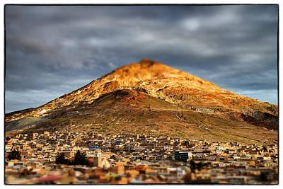 Photograph - Cerro Rico Potosi by For Ninety One Days