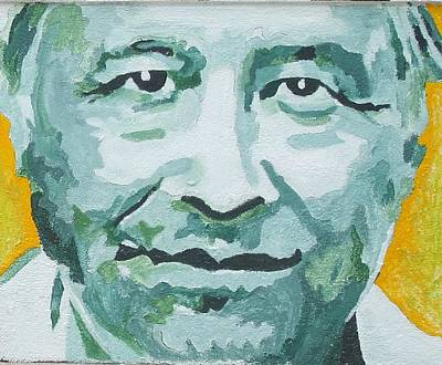 Civil Rights Painting - Cesar Chavez by Randy Segura