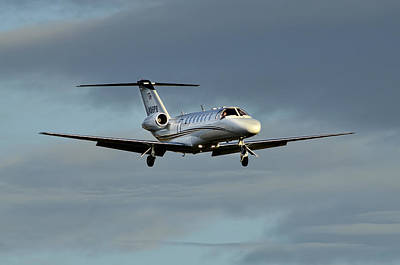 Cessna Citation 525b Art Print