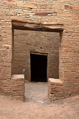 Chaco Photograph - Chaco Canyon by Steven Ralser